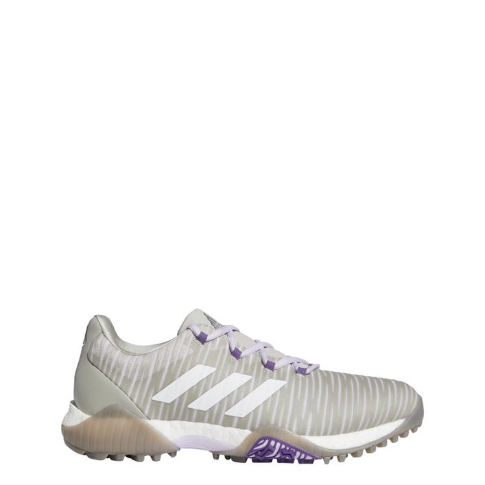 Chaussures CODECHAOS sans crampons pour femmes - Gris/Mauve/Blanc