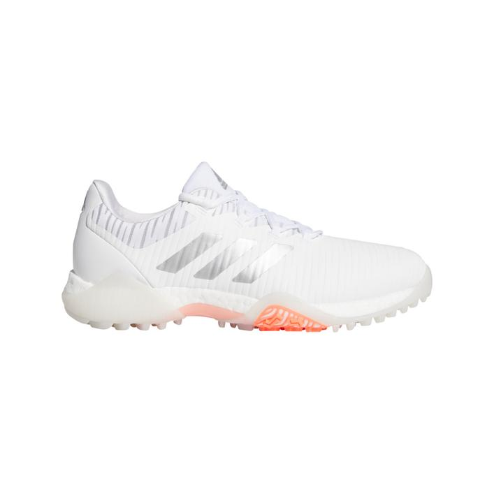 Women's CODECHAOS Spikeless Golf Shoe - White/Silver/Coral