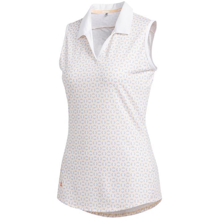 Women's Ultimate365 Printed Sleeveless Polo