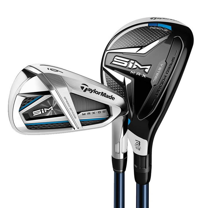 SIM MAX OS 3H 4H 5-PW Combo Iron Set with Graphite Shafts