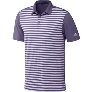 Men's 3 Colour Stripe Short Sleeve Polo
