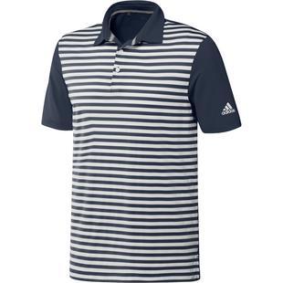 Men's 3 Colour Stripe Short Sleeve Polo