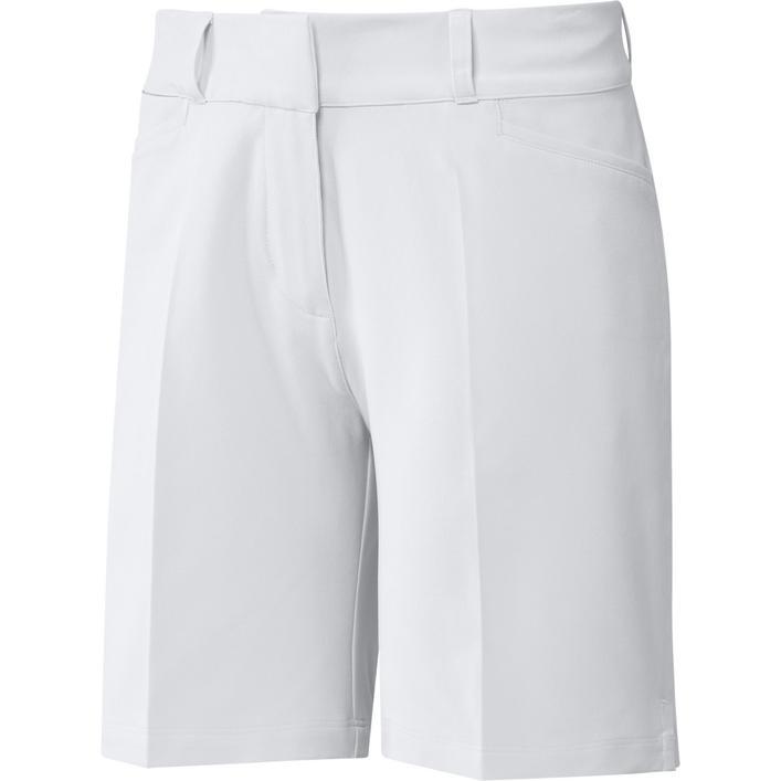 Women's Solid 7 Inch Short