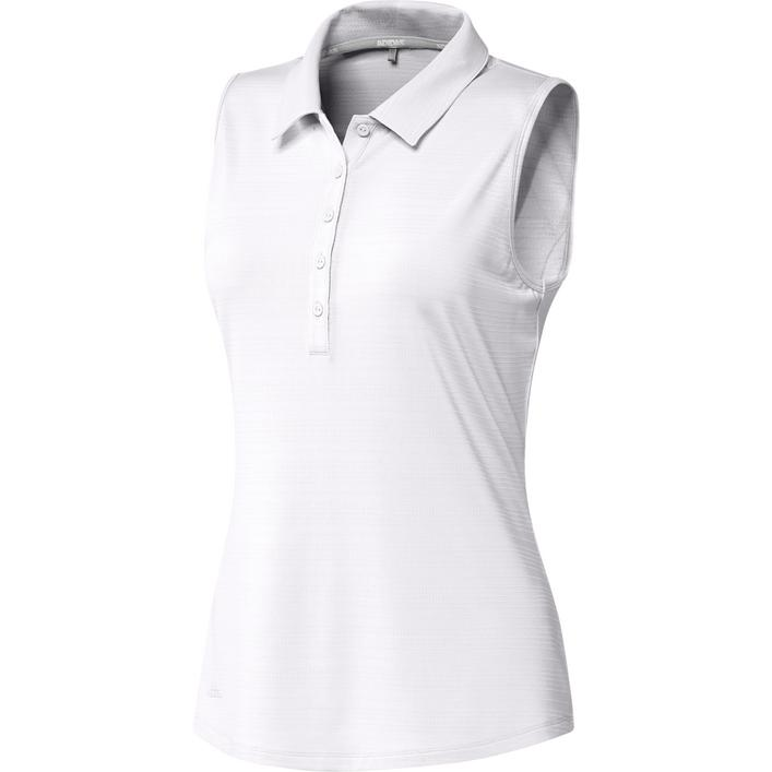 Women's Microdot Sleeveless Polo