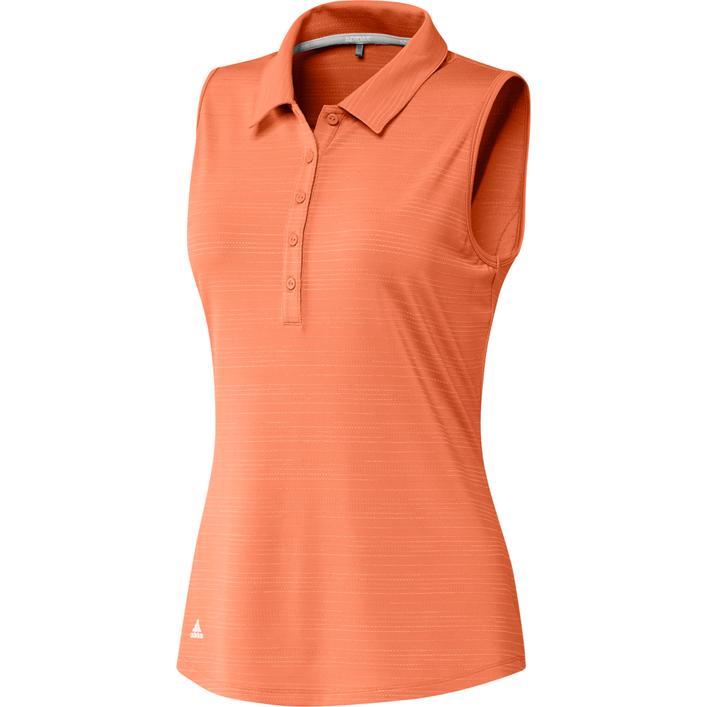Women's Microdot Sleeveless Polo