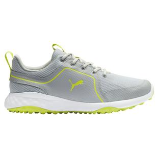 Men's Grip Fusion Sport Spikeless Golf Shoe - Grey/Green