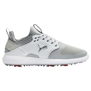 Men's Ignite PWRAdapt Caged Spiked Golf Shoe - White/Grey