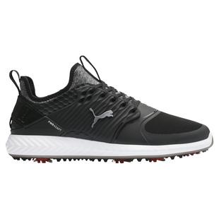 Men's Ignite PWRAdapt Caged Spiked Golf Shoe - Black
