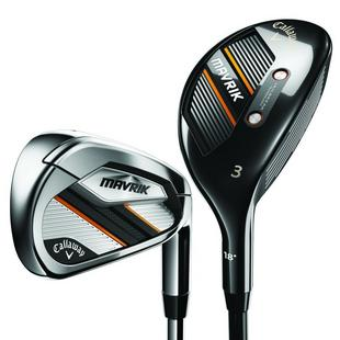 Mavrik 3H 4H 5-PW Combo Iron Set with Steel Shafts