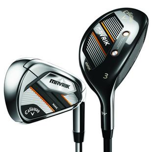 Mavrik Max 3H 4H 5-PW Combo Iron Set with Steel Shafts