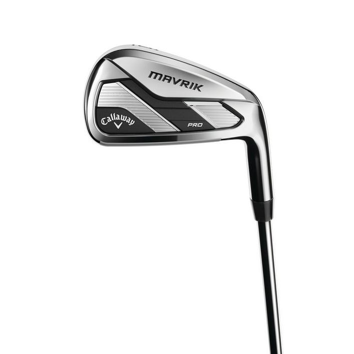 Mavrik Pro 4-PW Iron Set with Steel Shafts