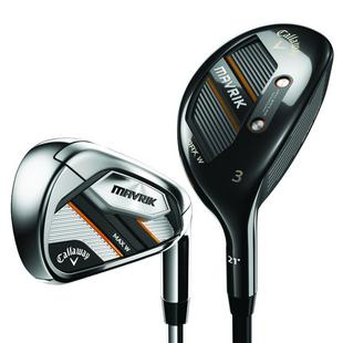 Women's Mavrik Max 4H 5H 6-PW SW Combo Iron Set with Graphite Shafts