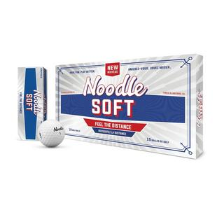 Noodle Soft Golf Balls  - 15 Pack