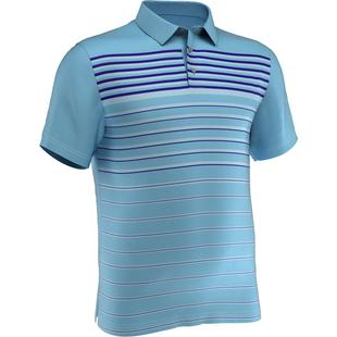 Men's Diffused Stripe Short Sleeve Polo