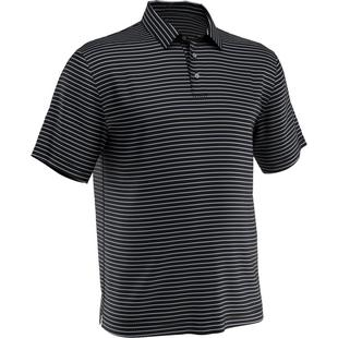 Men's 3-Colour Stripe Short Sleeve Polo