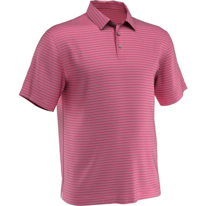 Men's 3-Colour Stripe Short Sleeve Polo