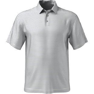 Polo à rayures tricolores pour hommes