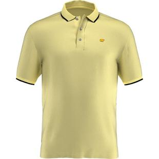 Men's Solid Short Sleeve Polo