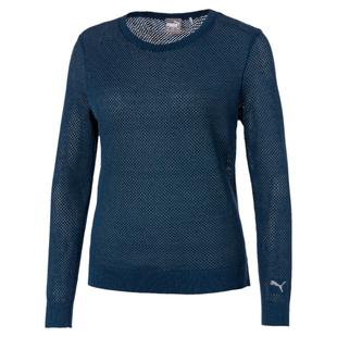 Women's Mesh Sweater