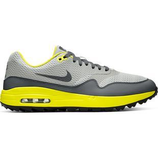 Chaussures Air Max 1 G sans crampons pour hommes - Gris/Jaune