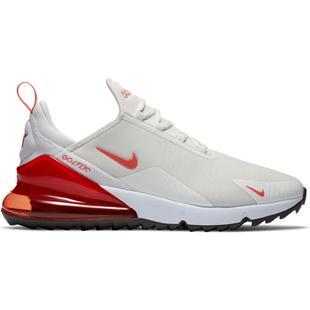 Men's Air Max 270 G Spikeless Golf Shoe - Ivory/Red