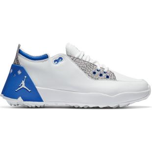 Men's Air Jordan ADG 2  Spikeless Golf Shoe - White/Blue
