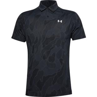 Men's Vanish Jacquard Short Sleeve Polo