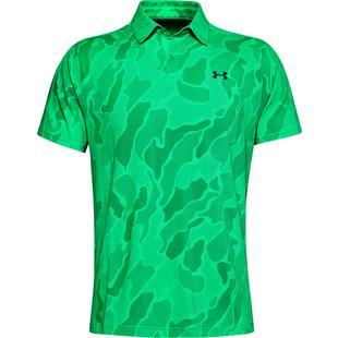 Men's Vanish Jacquard Short Sleeve Polo