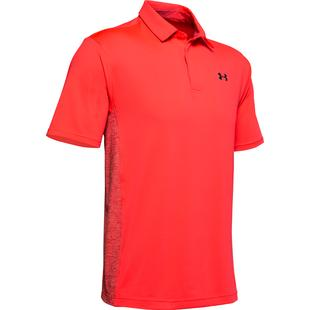 Men's Playoff Blocked Short Sleeve Polo