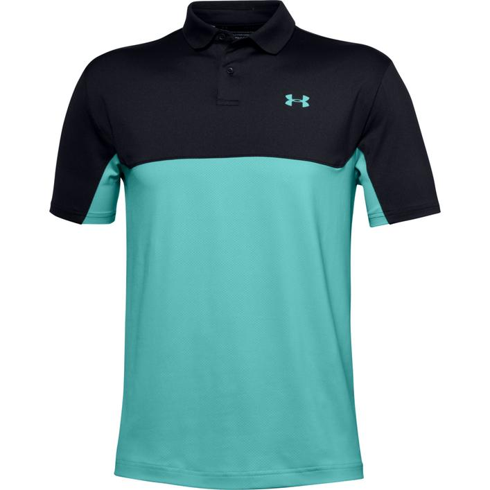 Men's Performance Colourblock Short Sleeve Polo
