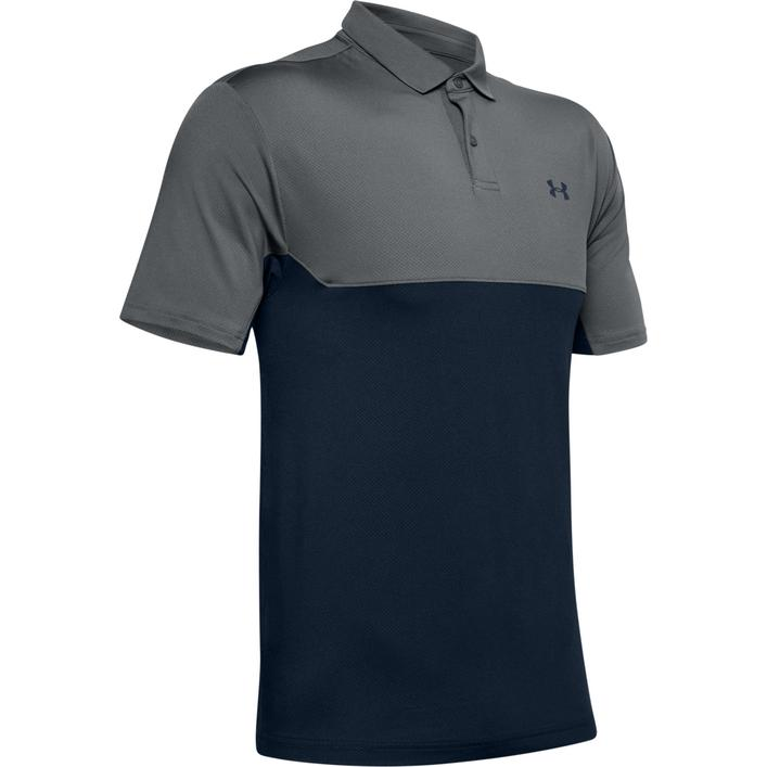 Men's Performance Colourblock Short Sleeve Polo
