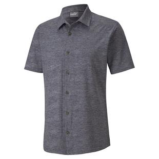 Men's Easy Living Short Sleeve Button-Up