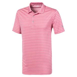 Men's Rotation Stripe Short Sleeve Polo