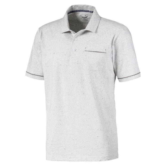 Men's Slub Short Sleeve Polo