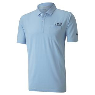 Men's Slow Play Pocket Short Sleeve Polo