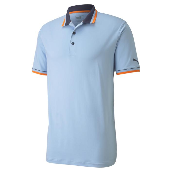 Men's Lux Solid Short Sleeve Polo