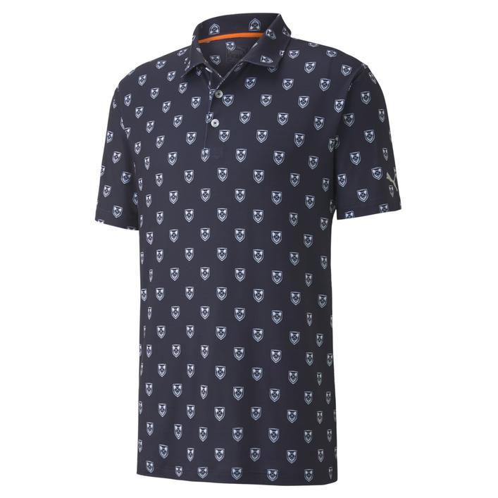 Men's Lux Skull Short Sleeve Polo