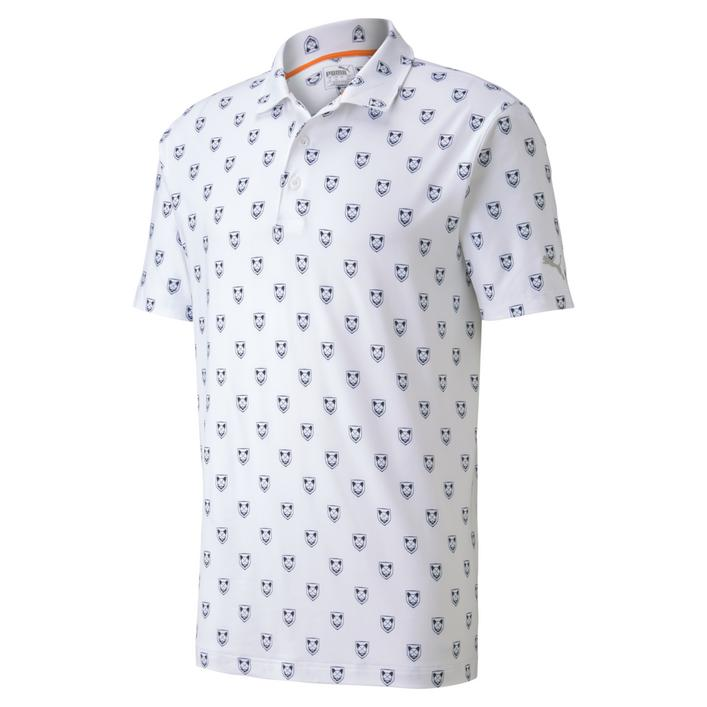 Men's Lux Skull Short Sleeve Polo