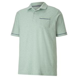 Men's Slub Short Sleeve Polo