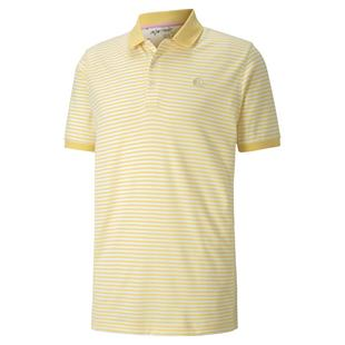 Men's AP Signature Stripe Short Sleeve Polo