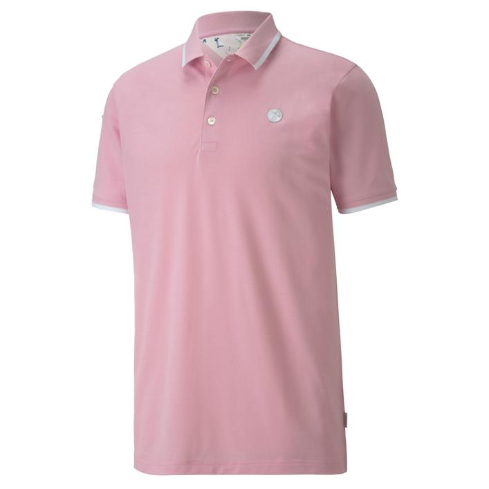 Men's AP Signature Tipped Short Sleeve Polo