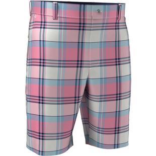 Pantalon court à imprimé madras pour hommes
