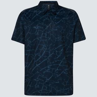 Men's Broken Glass Short Sleeve Polo