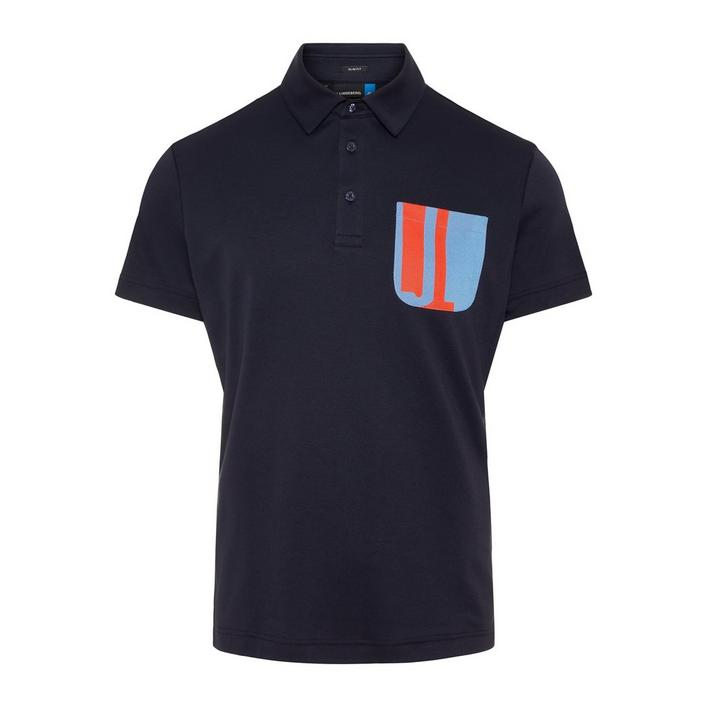 Men's Nils Slim Fit Club Pique Short Sleeve Polo