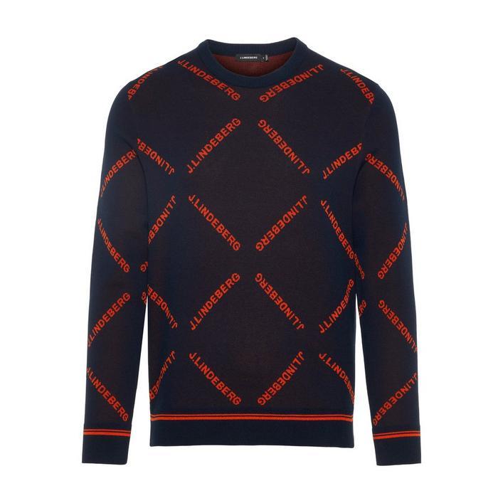 Chandail Penn tricoté en jacquard pour hommes