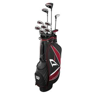 Deep Red Tour Package Set with Cart Bag