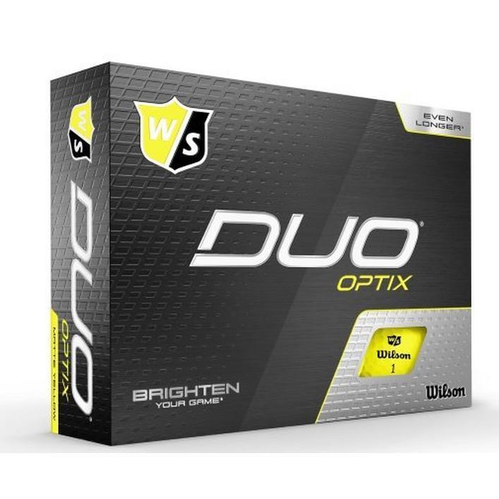 Duo Optix Golf Balls - Yellow