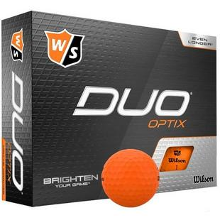Duo Optix Golf Balls - Orange