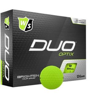 Duo Optix Golf Balls - Green
