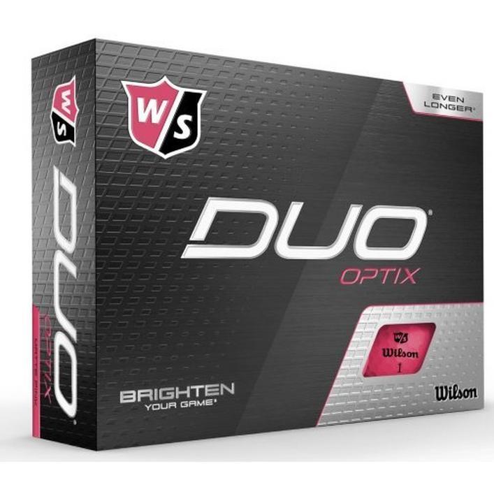 Duo Optix Golf Balls - Pink